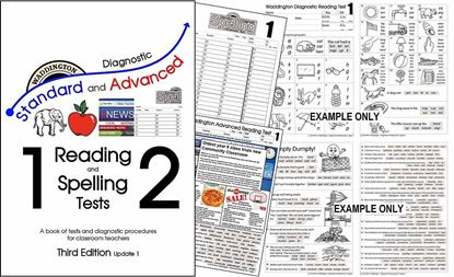 Picture of Reading & Spelling Tests 3rd Edition (Update1) ONE Teacher